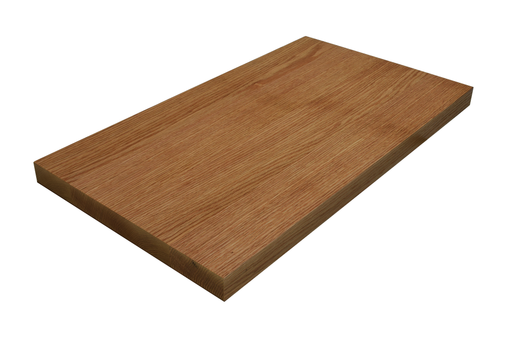 Rift Sawn Red Oak Wide Plank (Face Grain) Countertop.