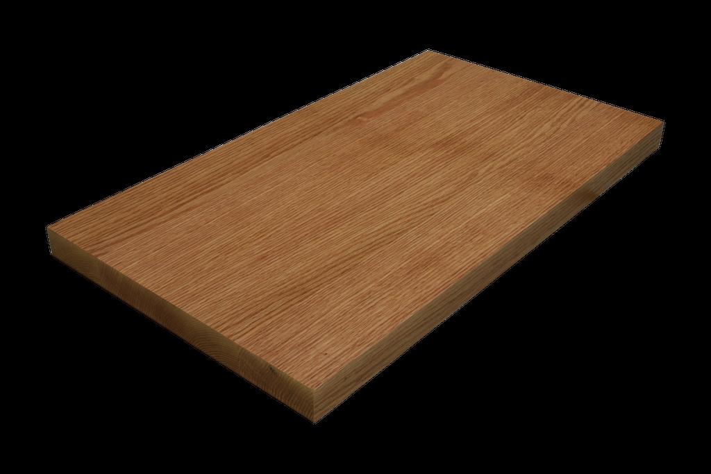 Rift Sawn Red Oak Wide Plank (Face Grain) Countertop.