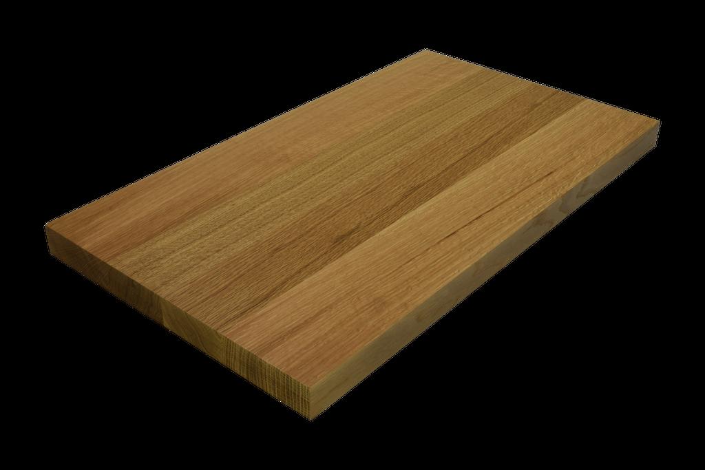 Rift Sawn White Oak Wide Plank (Face Grain) Countertop.