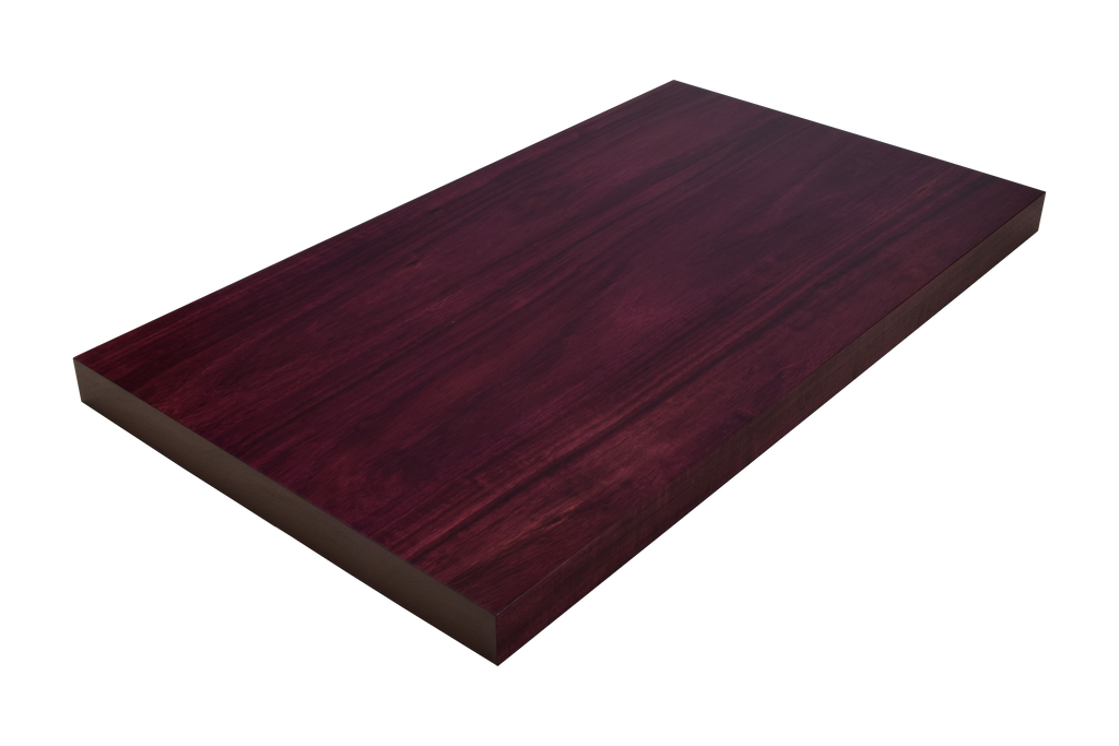 Purpleheart Wide Plank (Face Grain) Countertop.