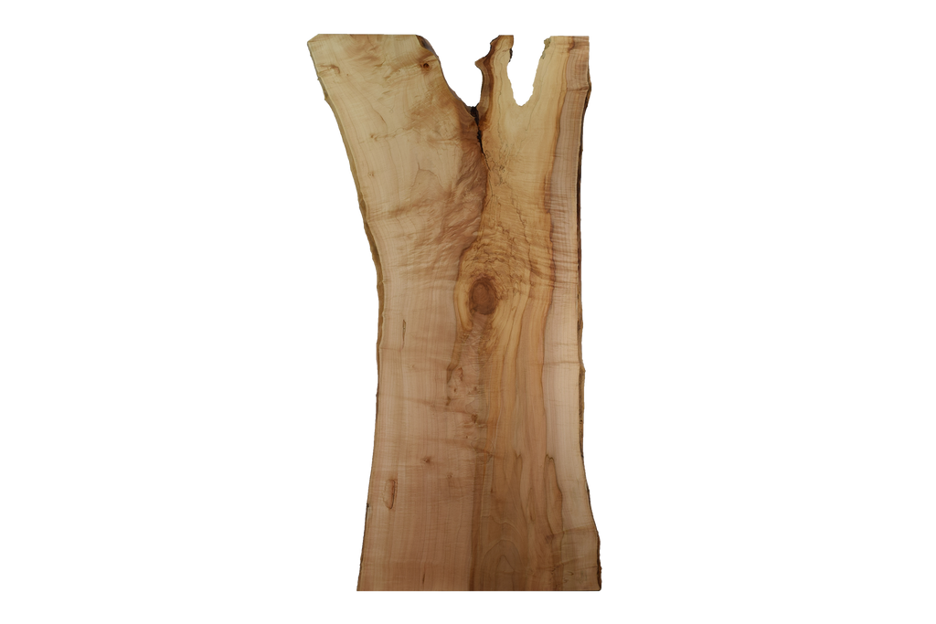 Front-side of Maple Live Edge Slab #382.