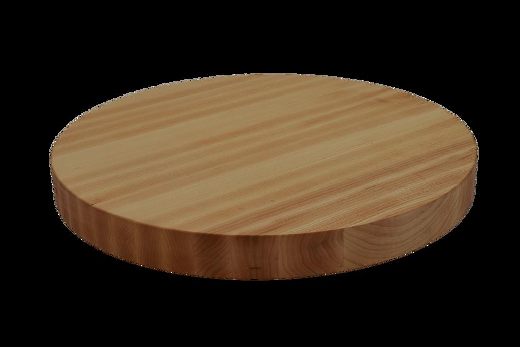 Maple Edge Grain Round Cutting Board