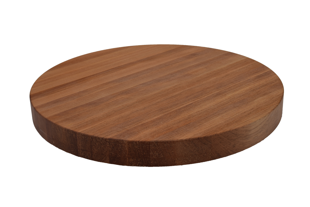 White Oak Edge Grain Round Cutting Board