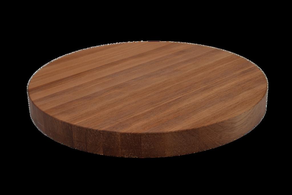 White Oak Edge Grain Round Cutting Board
