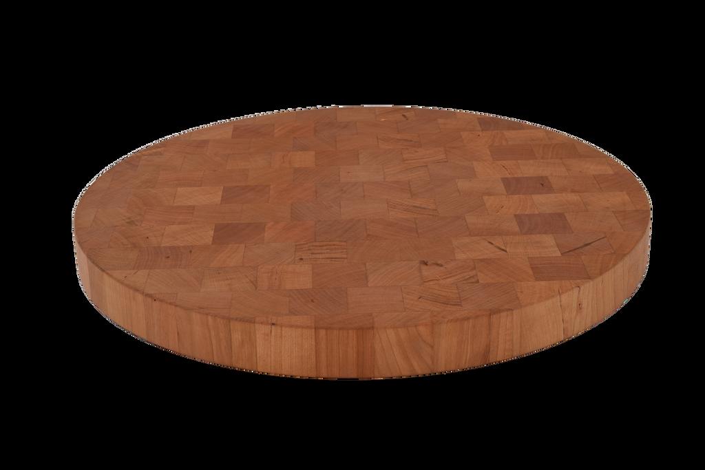 Cherry End Grain Round Cutting Board