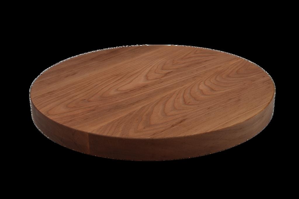 Birch Wide Plank Round Cutting Board.