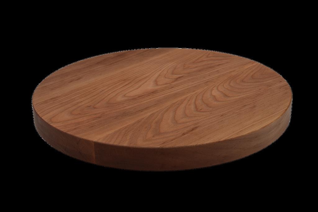Birch Wide Plank Round Cutting Board