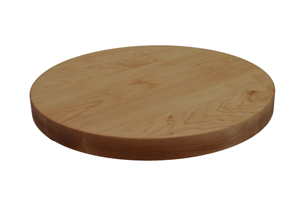Maple Wide Plank Round Cutting Board.