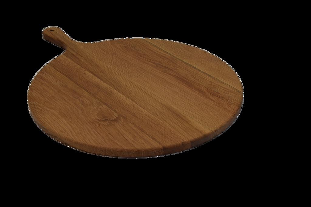 White Oak Pizza Paddle Cutting Board
