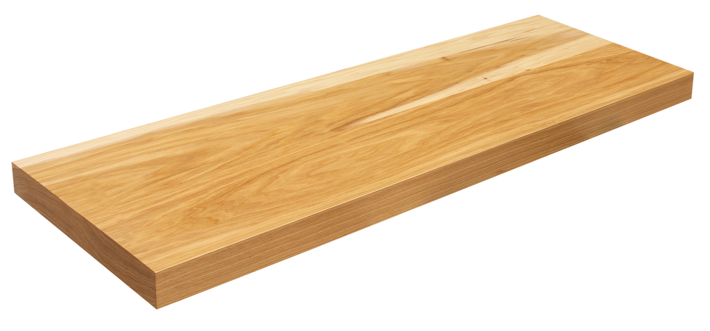 Hickory Floating Stair Tread WP
