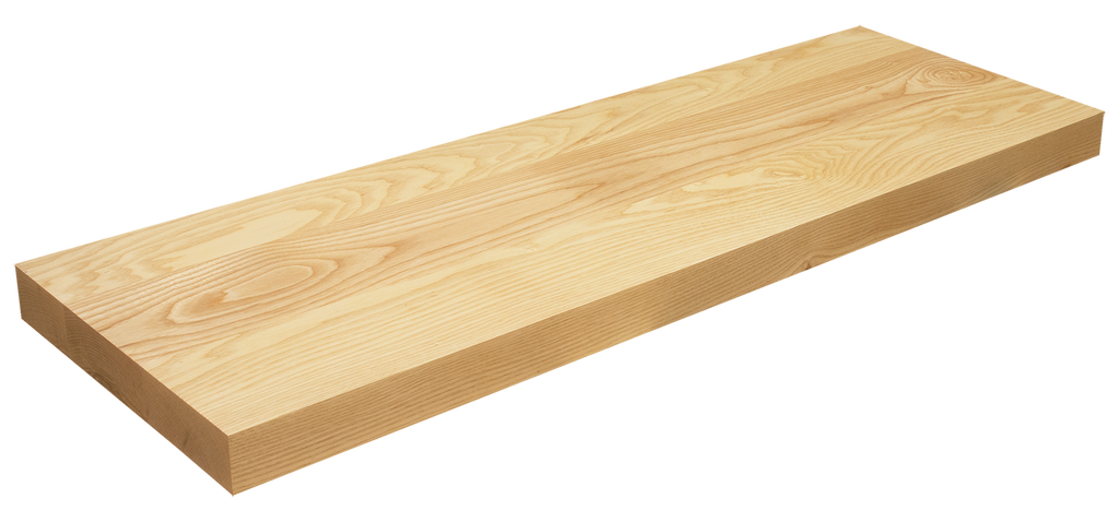 Ash Floating Stair Tread WP