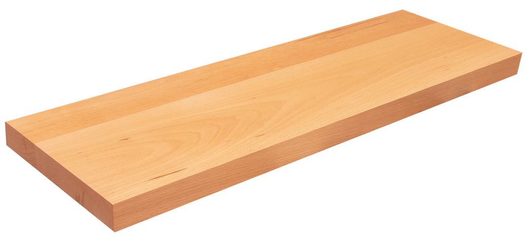 Beech Floating Stair Tread WP