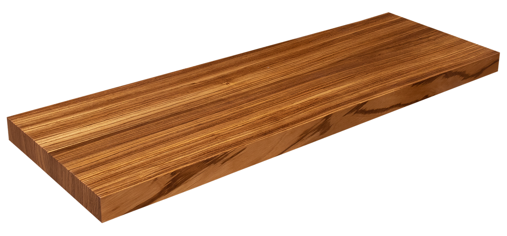 Zebrawood Floating Stair Tread WP