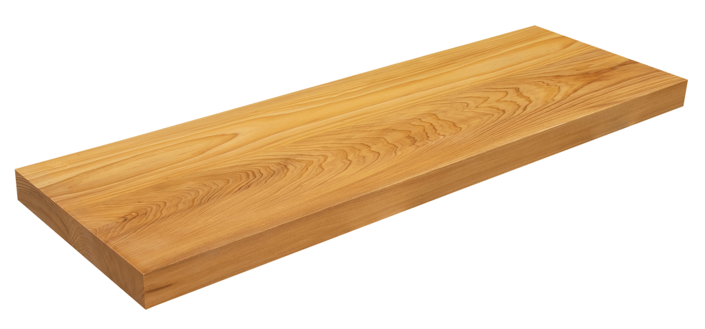 Cypress Floating Stair Tread WP