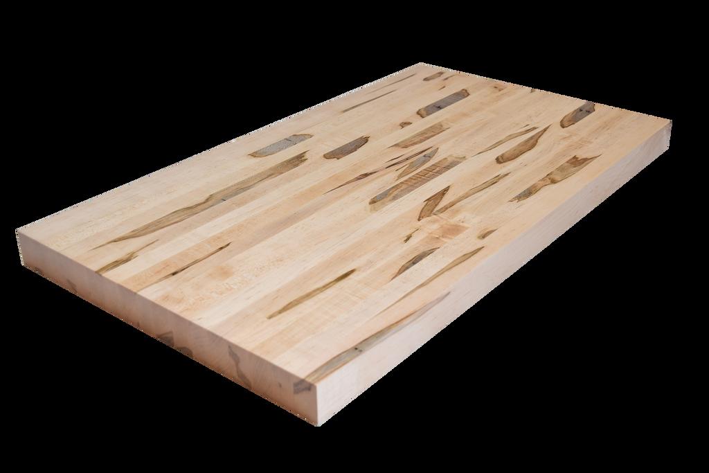 Wormy Maple (Ambrosia) Edge Grain Butcher Block Countertop