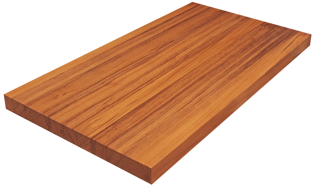Iroko Edge Grain Counter Top