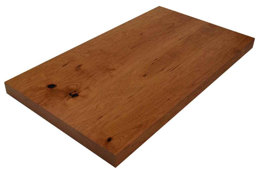 Rustic Cherry Wide Plank (Face Grain) Countertops