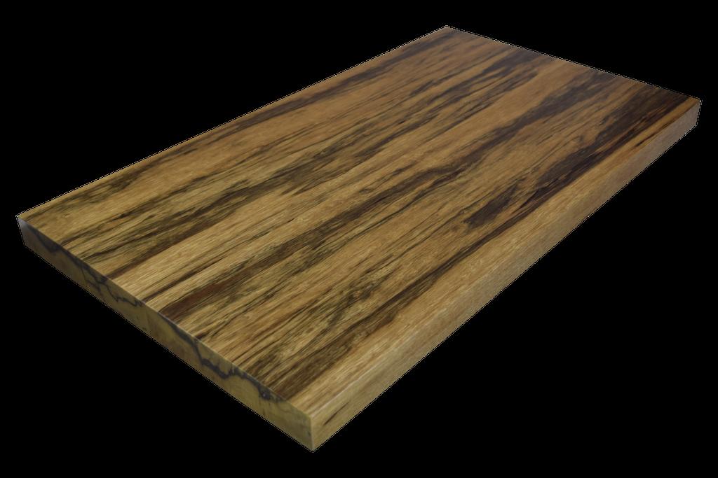 Black Limba Wide Plank (Face Grain) Countertops