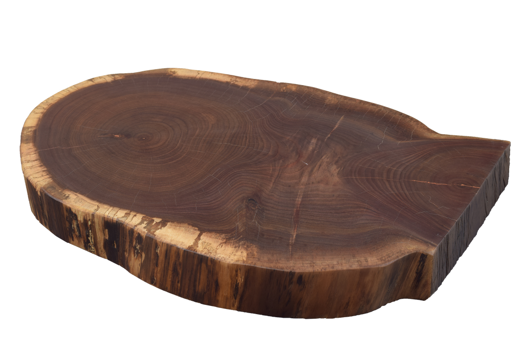 Walnut Live Edge Round #469