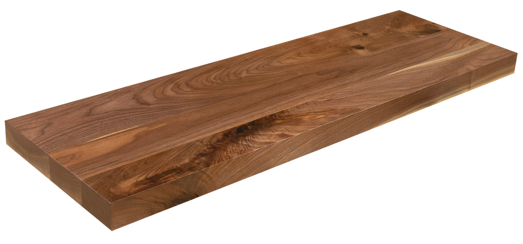Rustic Walnut Floating Shelf WP