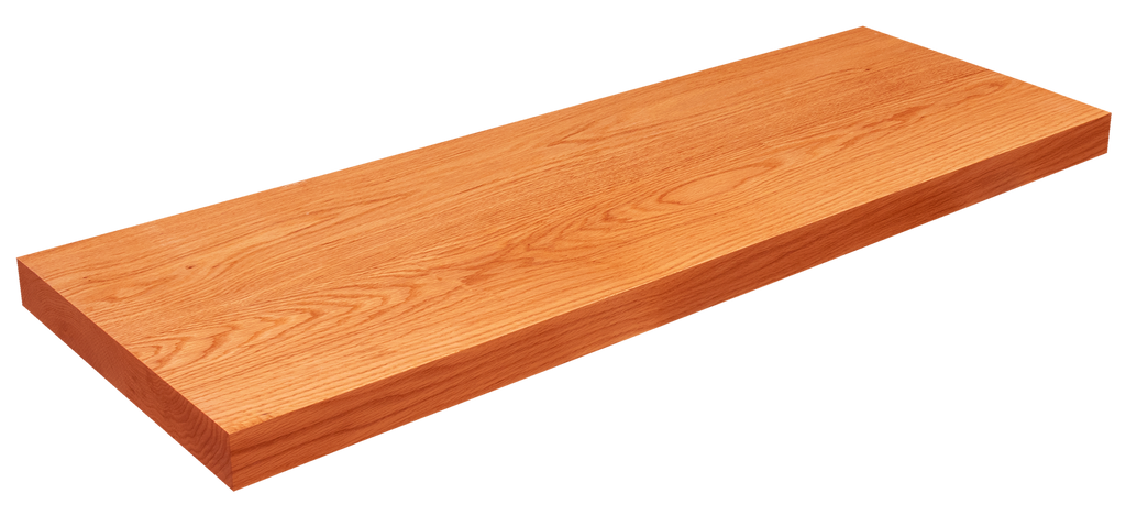 Rift Sawn Red Oak Floating Shelf WP