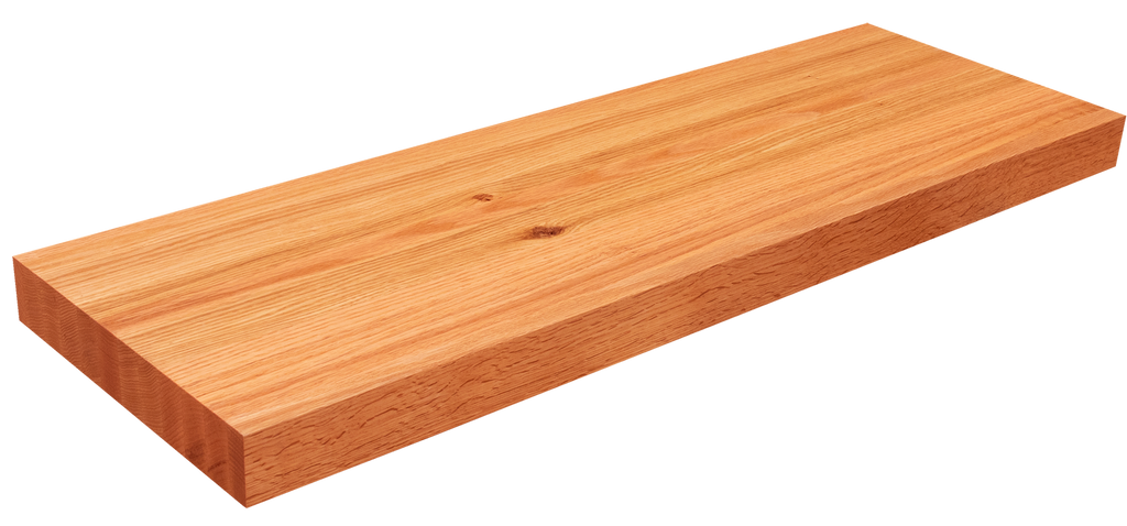 Rift Sawn Red Oak Floating Shelf EG