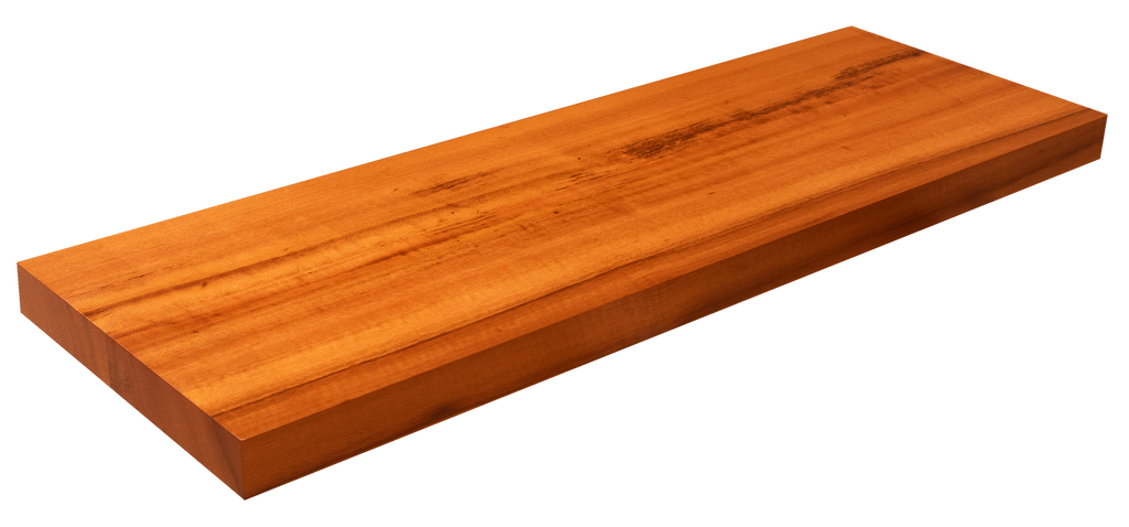 Tigerwood Floating Shelf WP