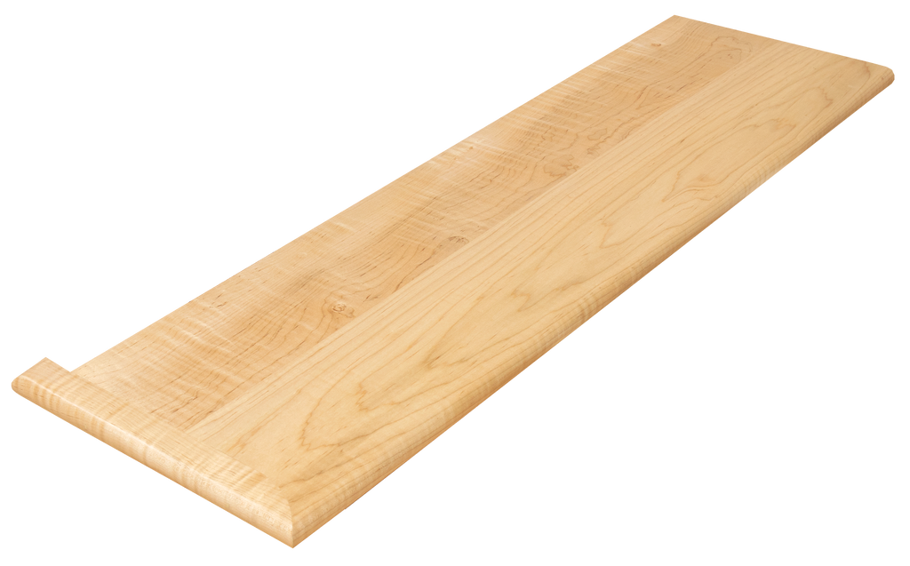 Curly Maple Stair Tread