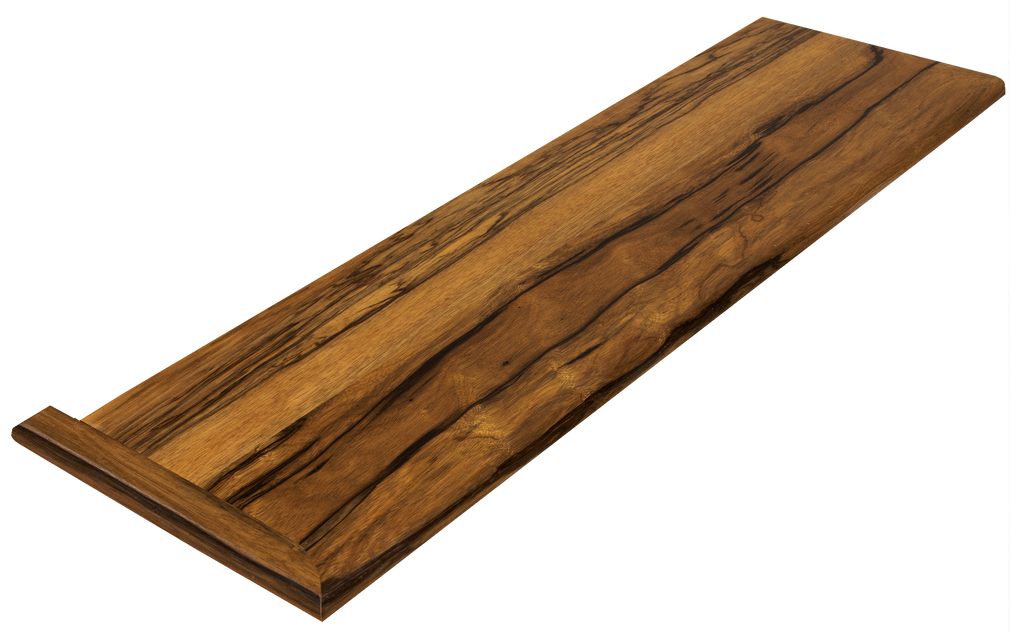 Black Limba Stair Tread