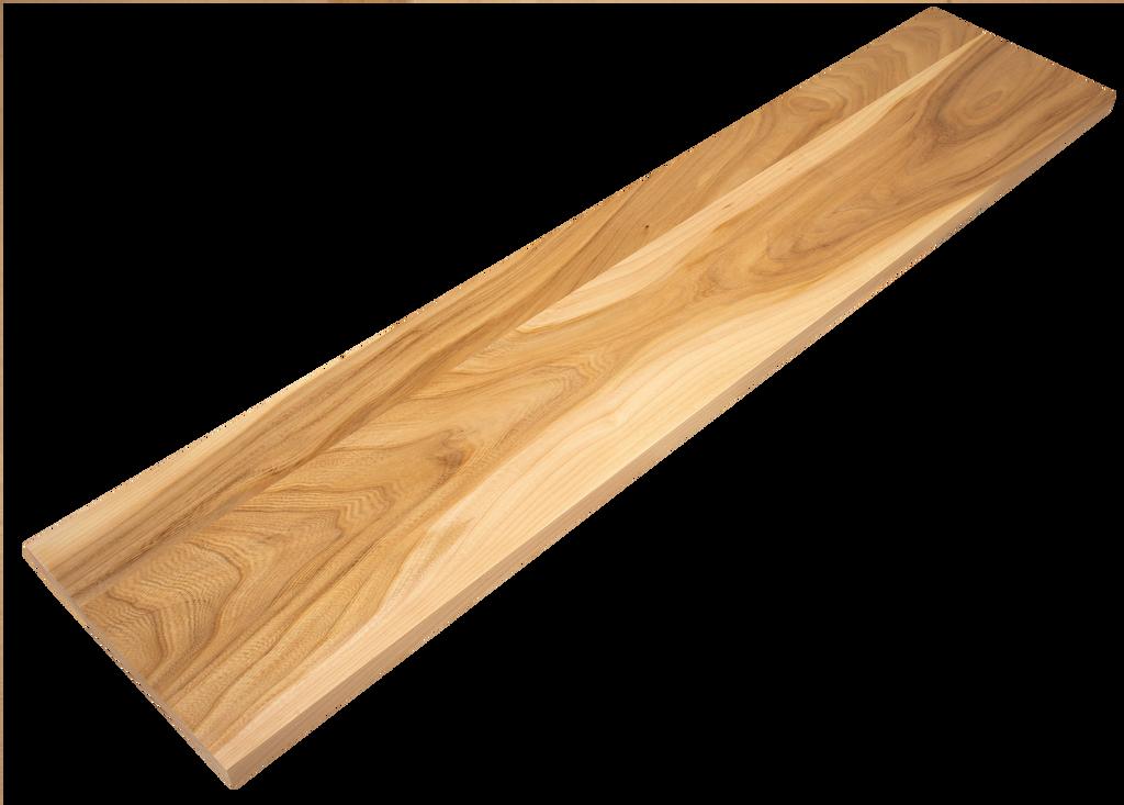 Grey Elm Stair Riser