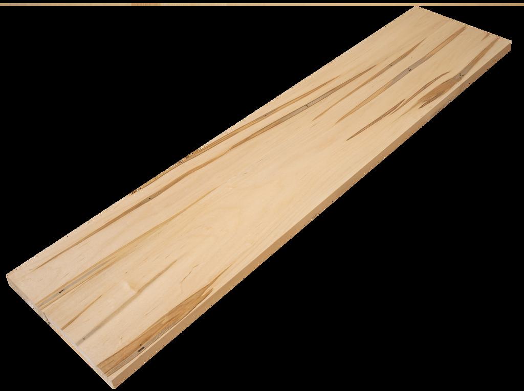 Wormy Maple Stair Riser