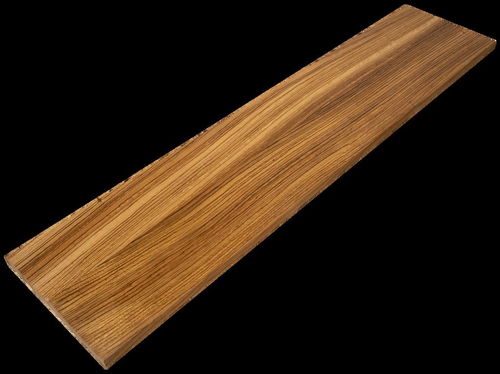 Zebrawood Stair Riser