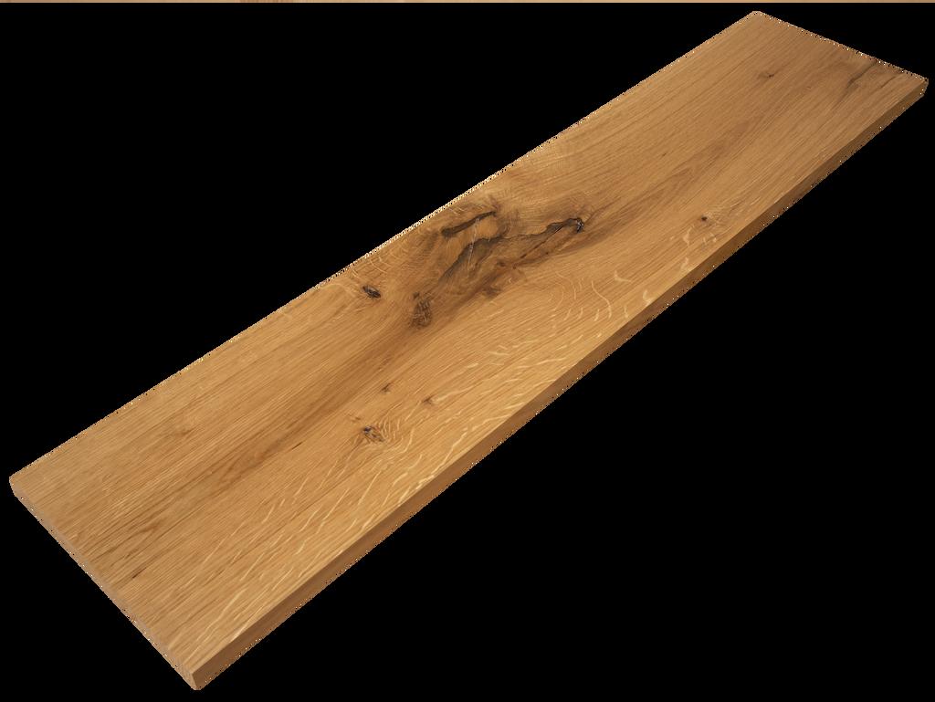 Live Sawn White Oak Stair Riser