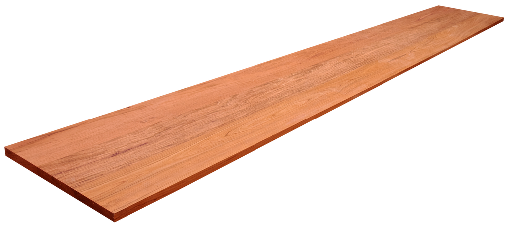 Brazilian Cherry Wide Plank (Face Grain) Countertop #598