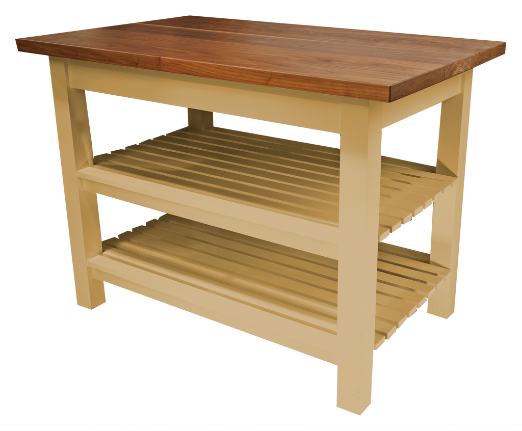 Custom Wood Kitchen Island Table