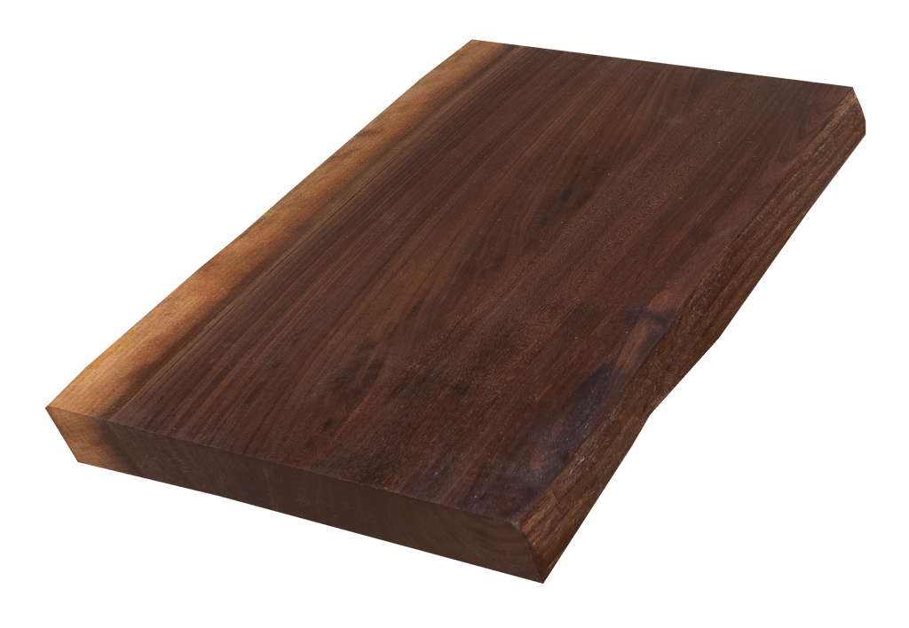Walnut Live Edge Cutting Board #111