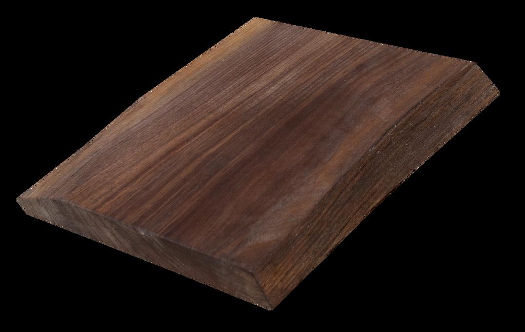 "Walnut Live Edge Cutting Board #127 (1.25""-12.25""-10.75"")"