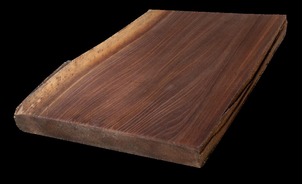 "Walnut Live Edge Cutting Board #136 (1.25""-11.75""-12.25"")"