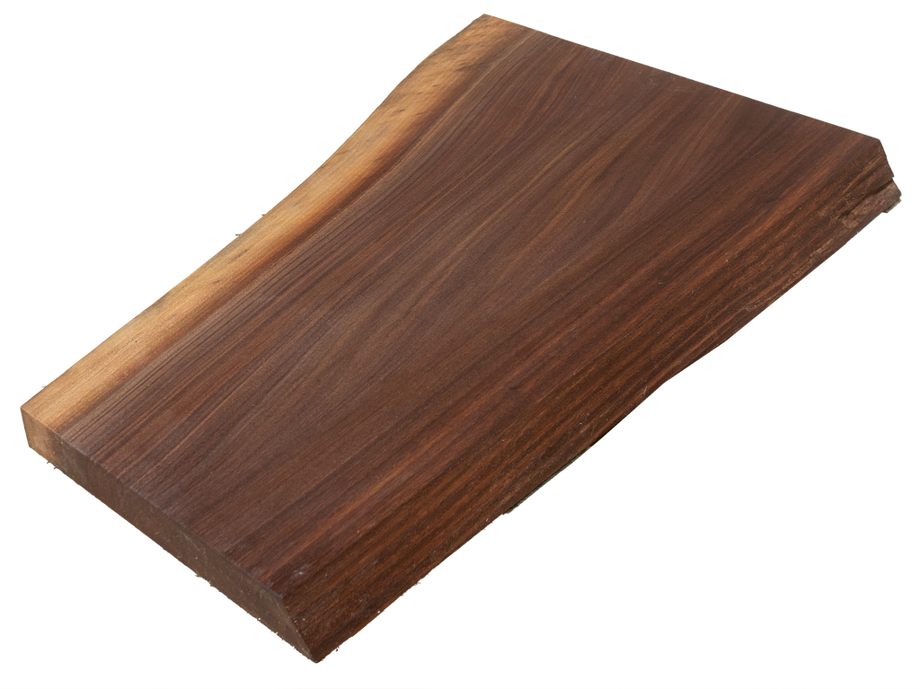 "Walnut Live Edge Cutting Board #148 (1.25""-12.5""-16"")"