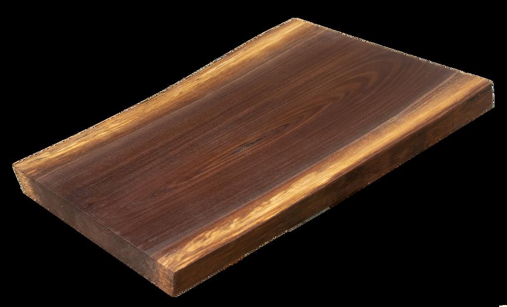 "Walnut Live Edge Cutting Board #159 (1.25""-13.5""-18"")"