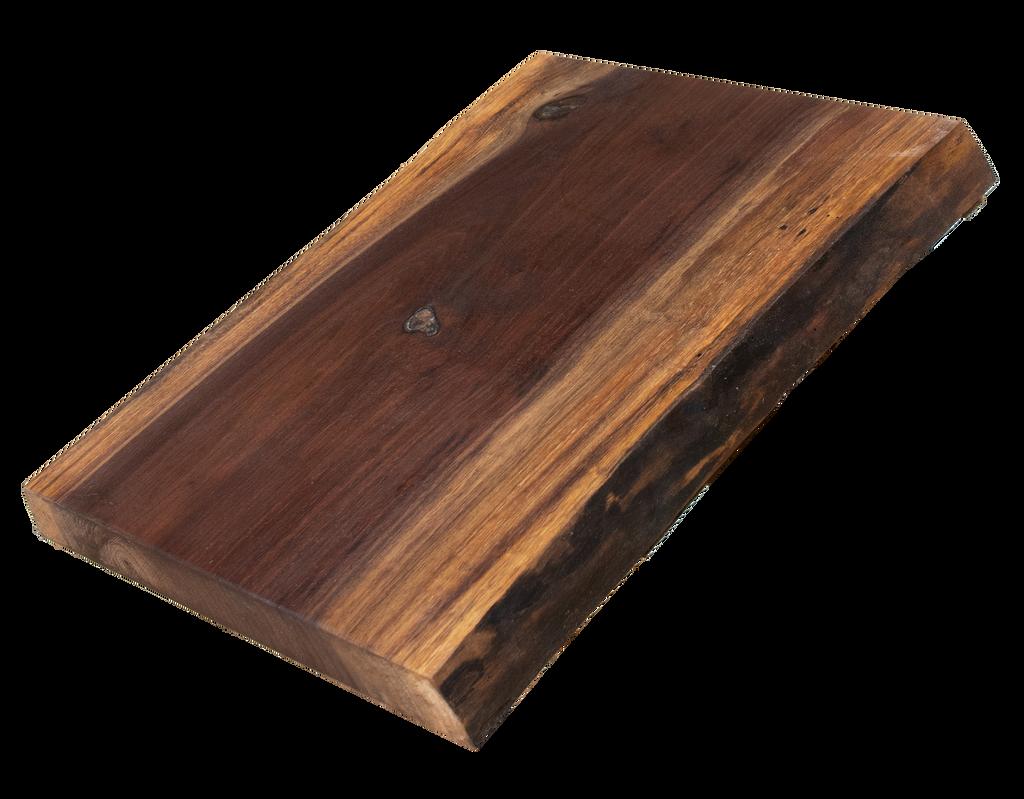 "Walnut Live Edge Cutting Board #163 (1.25""-12.75""-16"")"