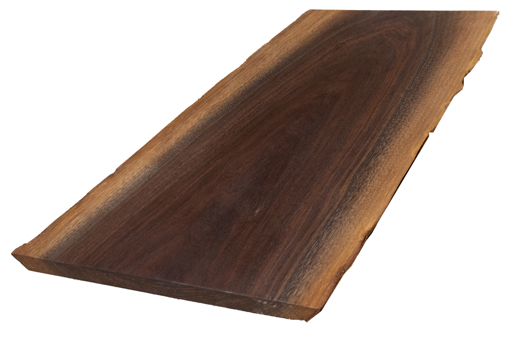 "Walnut Live Edge Cutting Board #165 (1""-12.5""-18"")"