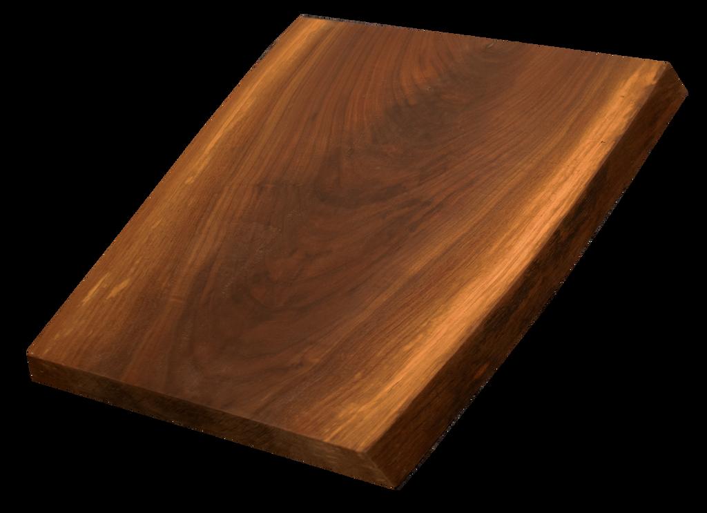 "Walnut Live Edge Cutting Board #169 (1.25""-15.75""-18"")"