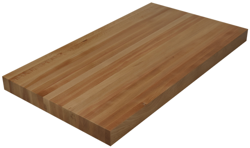 Beech Edge Grain Butcher Block Countertop.