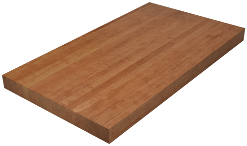Clear Cherry Edge Grain Butcher Block Countertop.