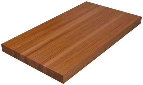 Genuine Mahogany Edge Grain Butcher Block Countertop.