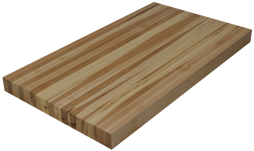 Hickory Edge Grain Butcher Block Countertop.