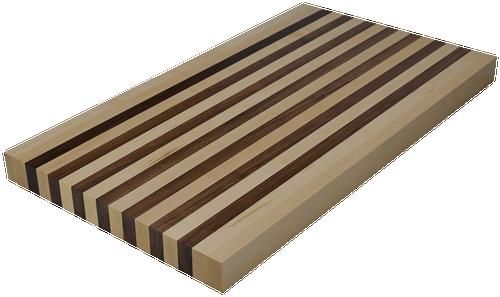 Mixed Maple/Walnut Edge Grain Butcher Block Countertop.