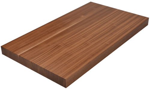 Sapele Edge Grain Butcher Block Countertop.