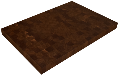Walnut End Grain Butcher Block Countertop.